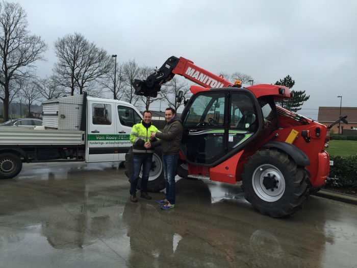 New Manitou MLT 741 for Carl van Rooy