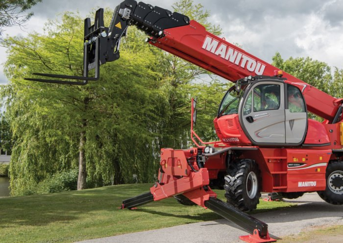 The NEW Manitou MRT 2470 telehandler