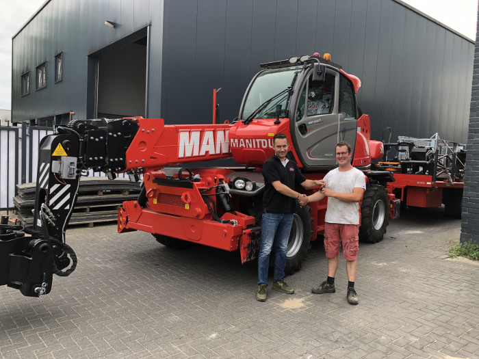NEW Manitou MRT 2550 delivered