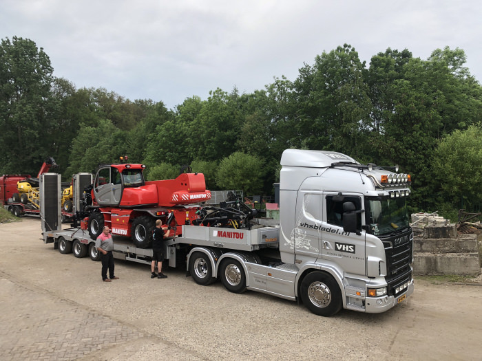 New Manitou delivered