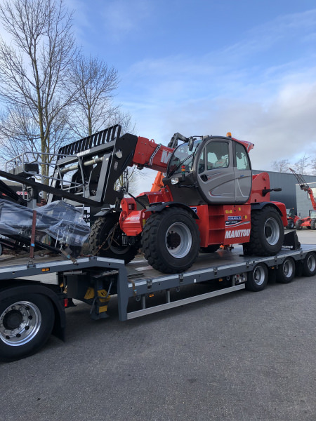New Manitou MHT 10130 delivered