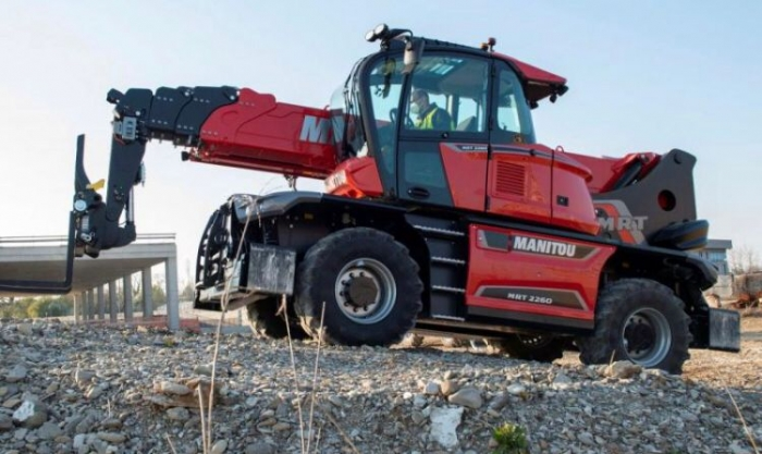 The new Manitou MRT Vision PLUS range