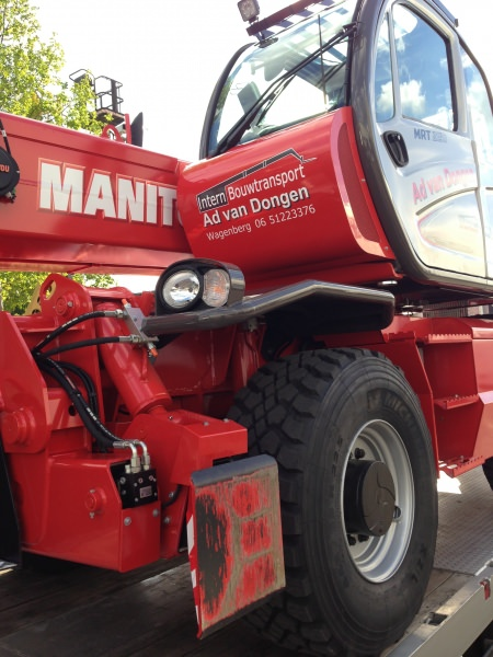 Manitou telehandlers, Manitou dealer VHS in Holland, Manitou dealer VHS in the Netherlands