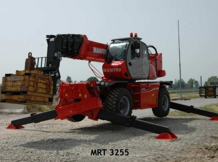 First pictures Manitou MRT 3255