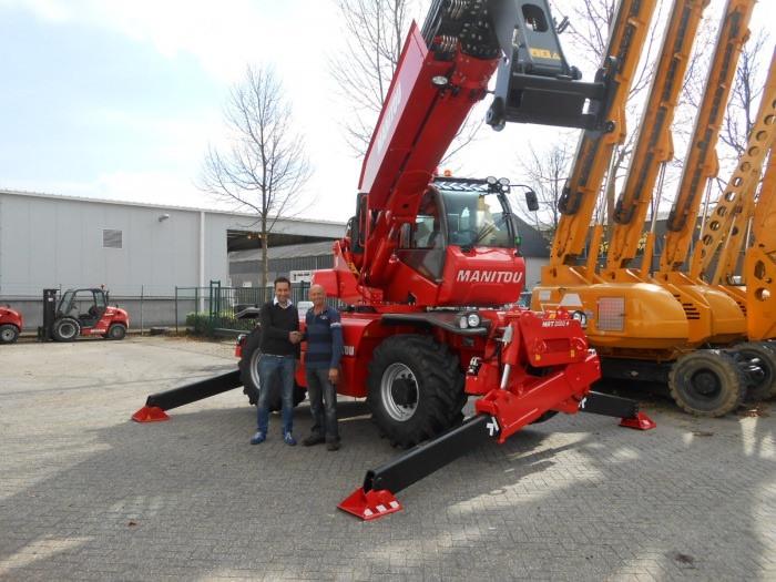 New Manitou MRT 2150 deliverd